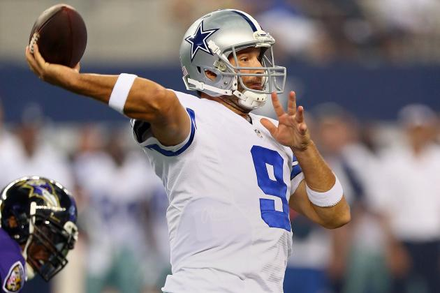 Stephen Jones on QB Tony Romo: 'I Know He Only Gets Better with Age'