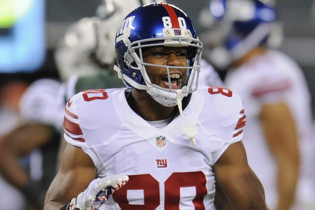 Eli Manning and Victor Cruz Find a Rhythm