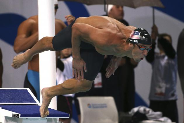 Michael Phelps Wins Gold in 100-Meter Butterfly at Pan Pacific Championships