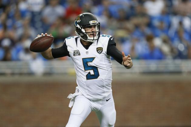 Blake Bortles' Strong Preseason Proves He's Ready to Start for Jaguars