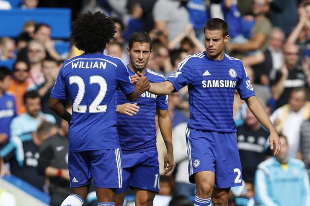 EPL Results Week 2: Premier League Scores, Top Scorers and 2014 Table Tracker