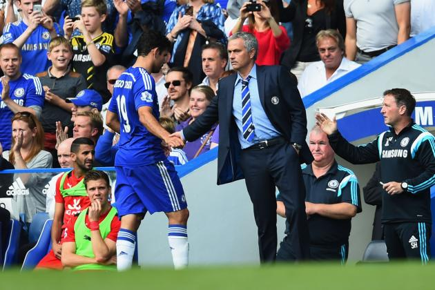 Chelsea vs. Leicester: Post-Match Reaction from Jose Mourinho and Nigel Pearson