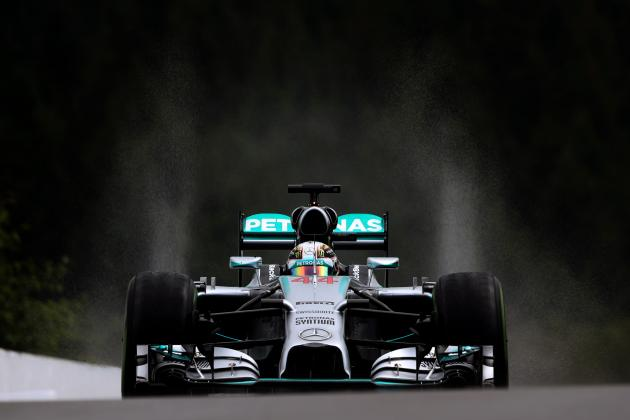 Lewis Hamilton's Qualifying Issues Remain as F1 Title Race Resets at Belgian GP