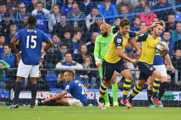 Everton vs. Arsenal: Score, Grades and Post-Match Reaction