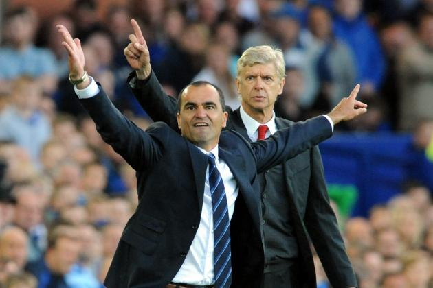 Everton vs. Arsenal: Post-Match Reaction from Roberto Martinez and Arsene Wenger
