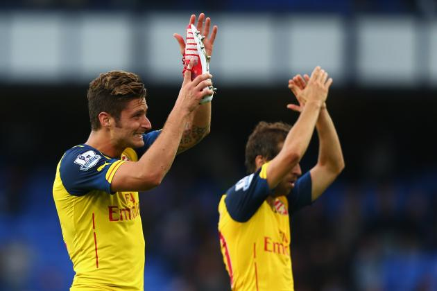 Everton 2-2 Arsenal: Gunners Salvage Late Draw from Diabolical First Half