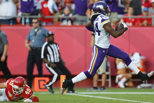 Cordarrelle Patterson's Fantasy Reaction After Preseason Performance vs. Chiefs