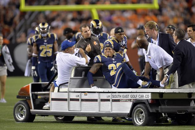 Trumaine Johnson Injury: Updates on Rams CB's Knee and Return