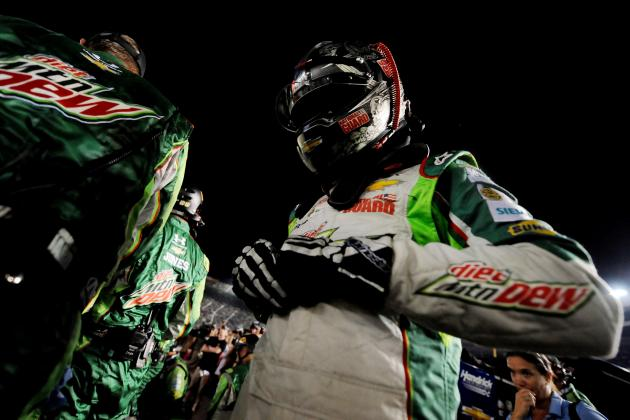 Dale Earnhardt Jr. Collected in Hamlin-Harvick Crash at Bristol