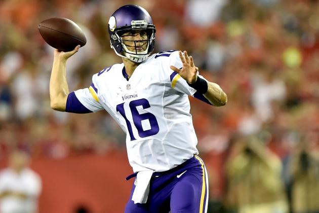 Teddy Bridgewater vs. Matt Cassel Fantasy Reaction for Vikings QBs vs. Chiefs