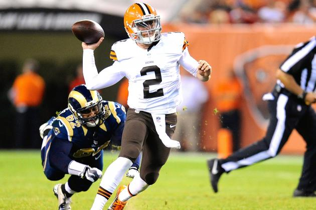 With Browns Offense Sputtering, Johnny Manziel's Time Is Coming
