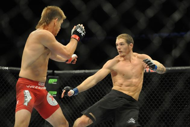 UFC Fight Night 49 Results: 3 Fights for Jordan Mein to Take Next