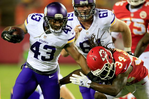 Vikings Hammer Punchless Chiefs 30-12 in Third Preseason Game