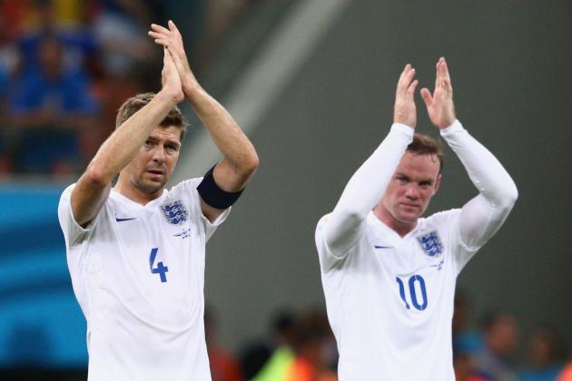 Steven Gerrard Backs Wayne Rooney for England Captaincy
