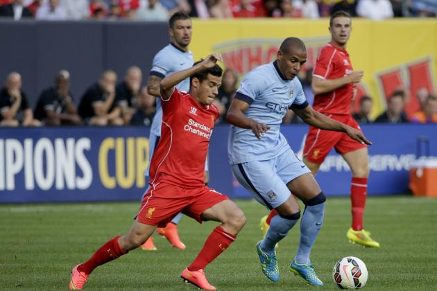 Manchester City vs. Liverpool: Date, Time, Live Stream, TV Info and Preview