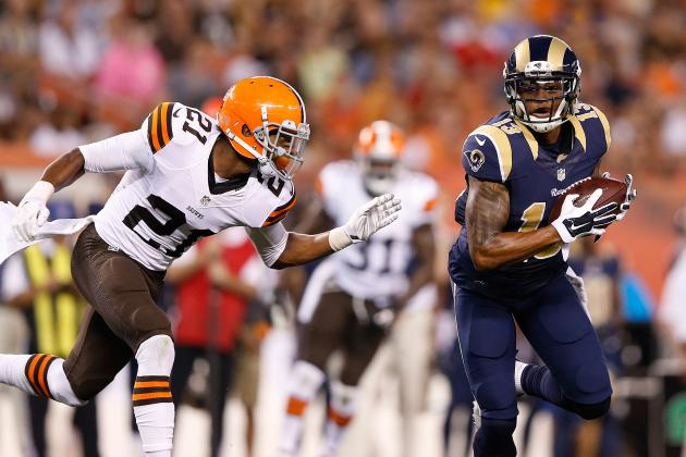Rookie Corner Justin Gilbert Endures a Long Night Against the St. Louis Rams