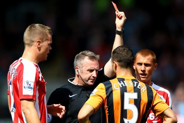 Goal-Line Technology Helps Ryan Shawcross Cancel Nikica Jelavic Strike