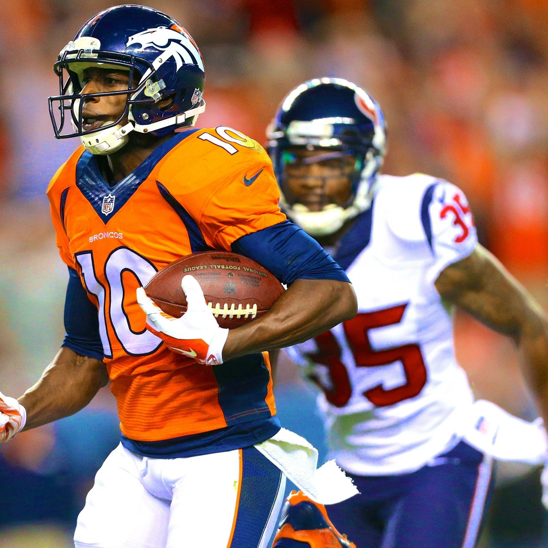 Denver Broncos Re Grading Their Key 2013 Offseason: Emmanuel Sanders And Montee Ball Ready To Take Broncos