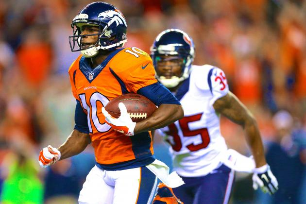 Emmanuel Sanders and Montee Ball Ready to Take Broncos Offense to New Heights