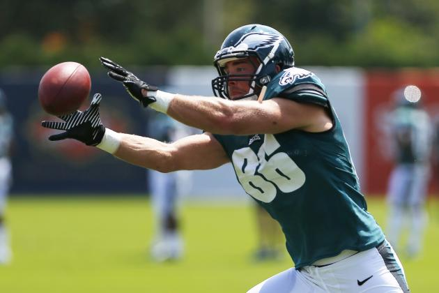 Why Zach Ertz Is Philadelphia Eagles' Biggest X-Factor in 2014
