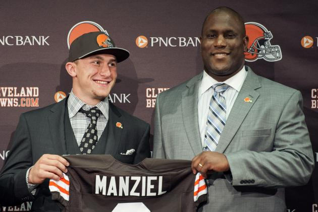 GM: Manziel Is 'Where He's Supposed to Be'