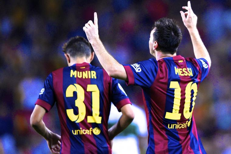 Lionel Messi Illuminates Barcelona Once More, But Munir Steals the Limelight