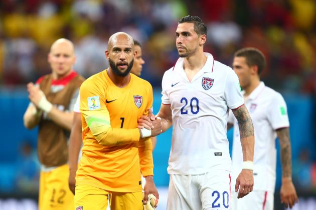 USMNT Watch: Tim Howard to Take Break; Geoff Cameron May Be on the Move