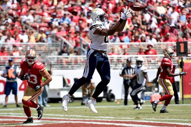 Antonio Gates' Instant Fantasy Reaction After Preseason Game vs. 49ers