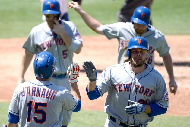 Duda's 2 HRs, 5 RBIs Lead Mets over Dodgers