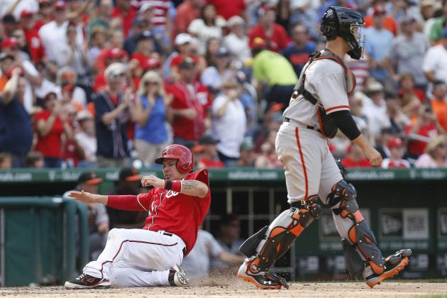 Nats Rally for 14-6 Win, Take Series from Giants