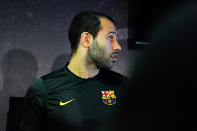 Why Javier Mascherano Is Under Most Pressure for Barcelona Following Elche Win