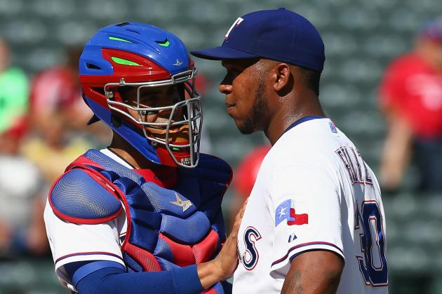 Rangers Get Look at Catching Future
