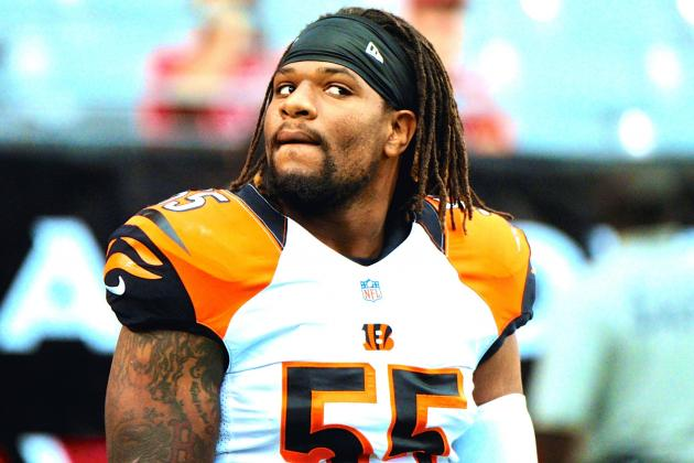 Vontaze Burfict Injury: Updates on Bengals LB's Hamstring and Return
