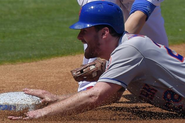 David Wright Leaves Game with 'muscle Spasm,' Lucas Duda Homers Twice