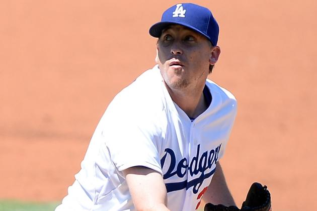 Kevin Correia Makes an Early Exit in Dodgers' 11-3 Loss to Mets
