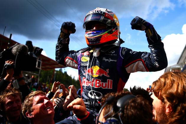 Daniel Ricciardo Can Turn 2014 F1 Season into 3-Way Title Race After Belgian GP