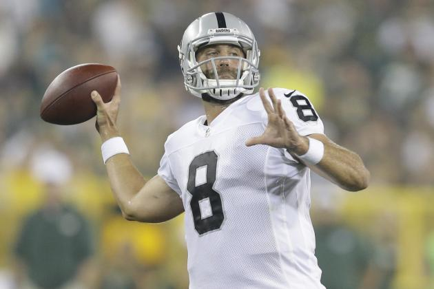 Matt Schaub Injury: Updates on Raiders QB's Tendonitis and Return