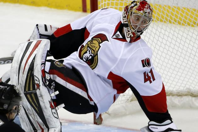 Senators Agree to Teams with Goaltender Craig Anderson
