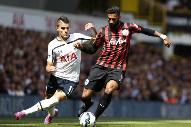 Tottenham 4-0 QPR: Erik Lamela Rejuvenated, Shows Creative Prowess in Spurs Rout