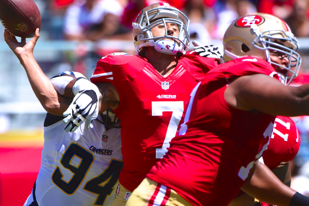 Colin Kaepernick, 49ers Offense Beyond Abysmal in Ominous Preseason Showings