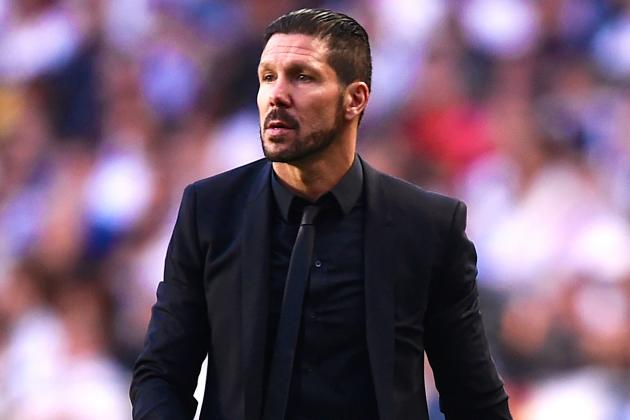 Diego Simeone Banned 8 Games for Making Contact with Official