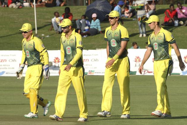 Zimbabwe vs. Australia: Highlights, Scorecard and Report from Triangular Series