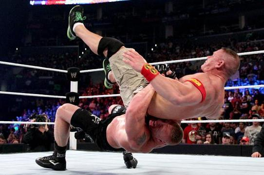 Projecting Buildup for Brock Lesnar vs. John Cena at Night of Champions