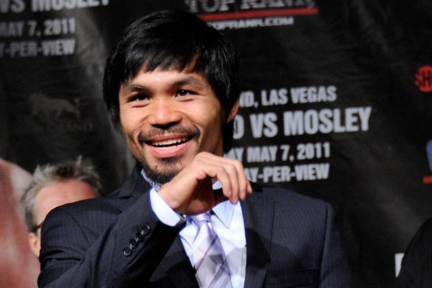 Manny Pacquiao Selected in 1st Round of 2014 PBA Draft