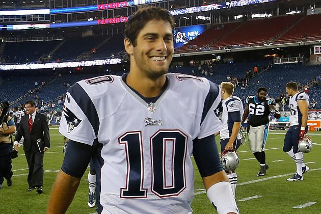 Pats Will Start Garoppolo in Preseason Finale