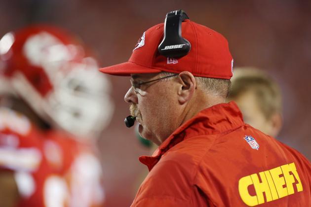 Reid: Chiefs Not Far from Being Good Team