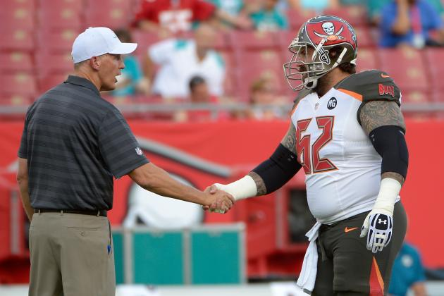 Bucs Center on Incognito: 'Everyone Has Baggage'