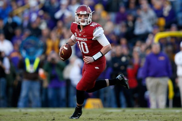 Arkansas QB Brandon Allen's Truck Destroyed in Apparent Arson