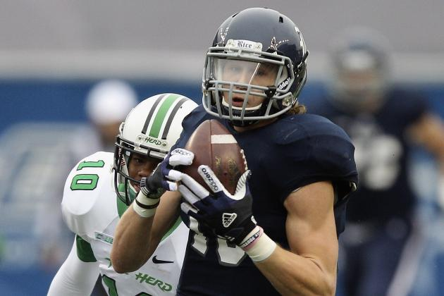 Rice WR Jordan Taylor Questionable for Season Opener