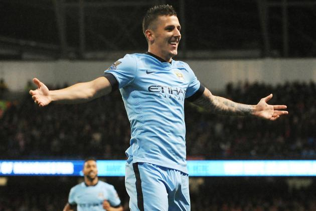 Twitter Reacts to Stevan Jovetic's Performance from Manchester City vs Liverpool